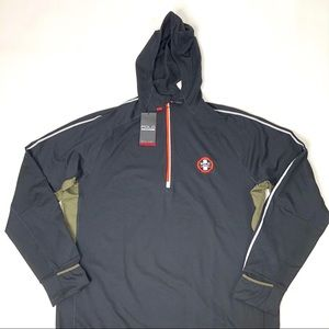 Polo Sport Pullover Hoodie Track Jacket XL NWT